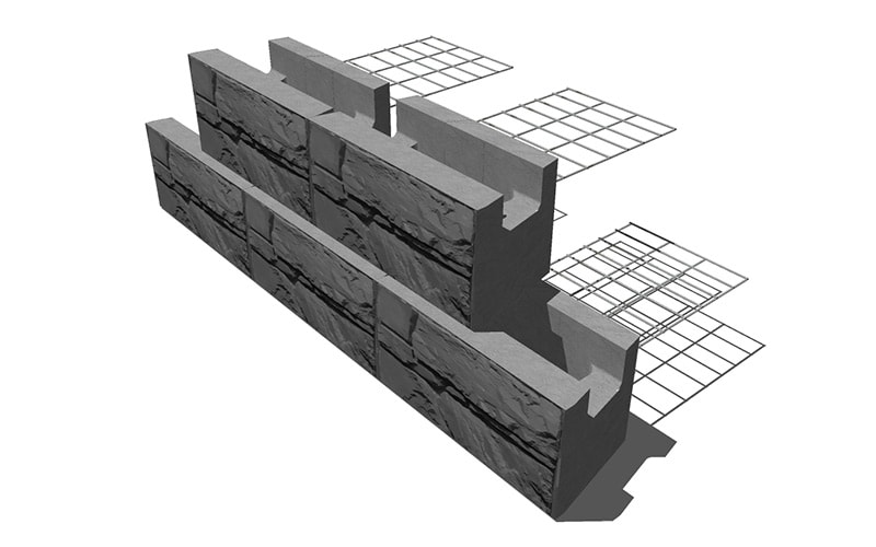 Magnumstone Steel Grid Wall