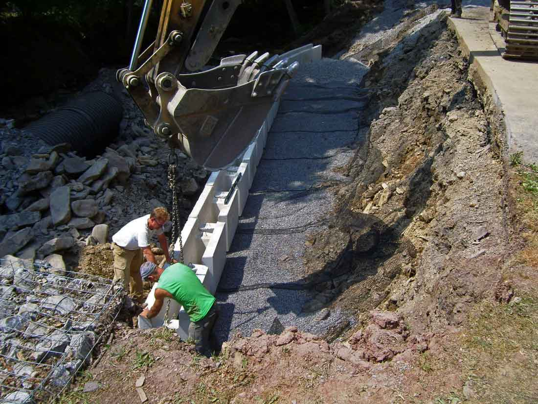 Dudly-river-Pennsylvania-retaining-walls