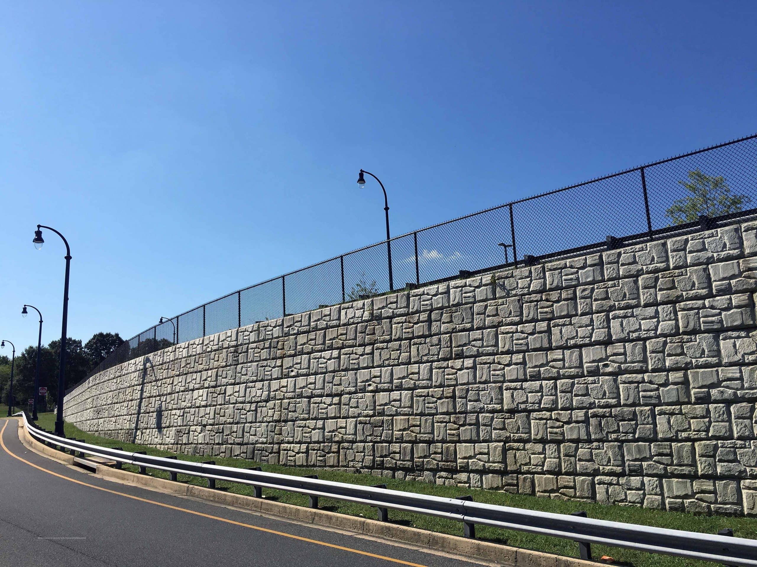 MGM Casino - Gravity Retaining Wall