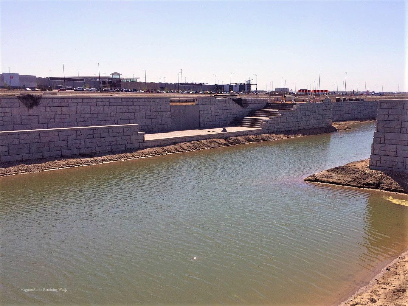 MagnumStone Geogrid Retaining Wall Corners