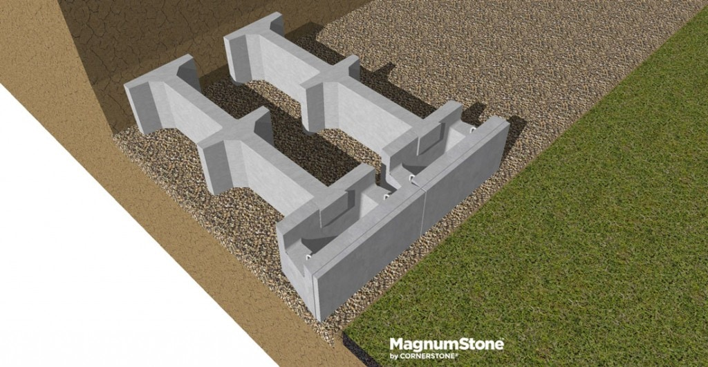 MagnumStone-Gravity-retaining-wall-base-row