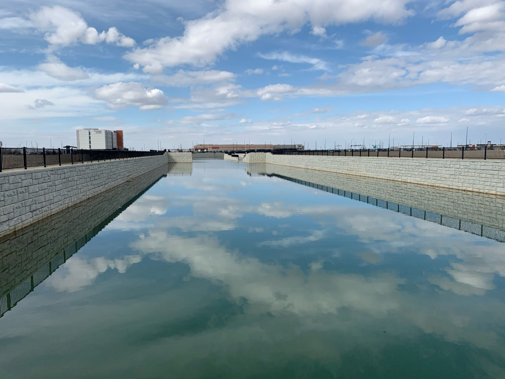 MagnumStone Retaining Wall Stormwater Retention Basin