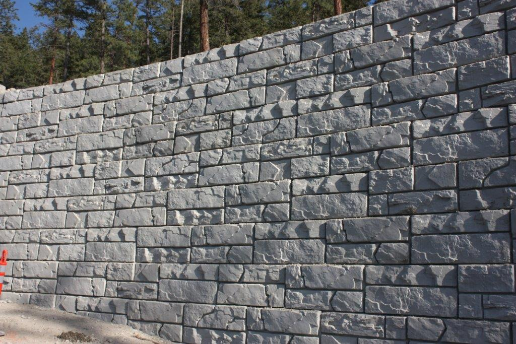 MagnumStone Block Retaining Wall Ledge Face