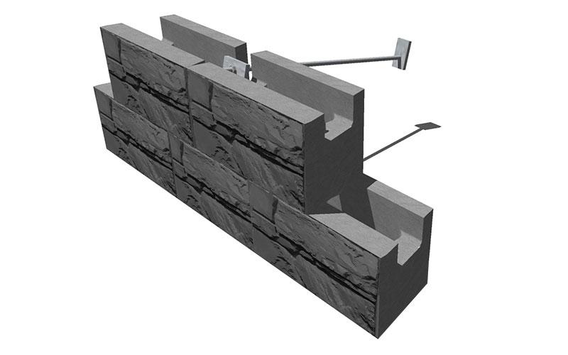 Magnumstone Soil Nailing Wall